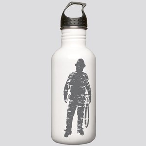 old linemen rule 3 Stainless Water Bottle 1.0L