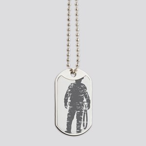 old linemen rule 3 Dog Tags