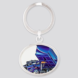 KWt800Float Oval Keychain