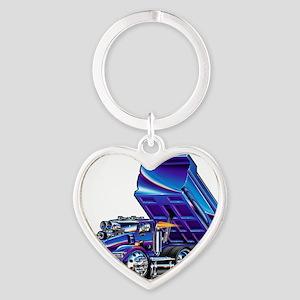 KWt800Float Heart Keychain