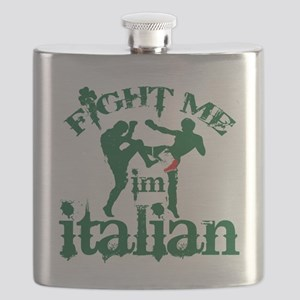 FIGHT-ME-Italiancolored-shorts Flask
