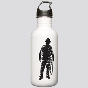 old linemen rule 4 Stainless Water Bottle 1.0L