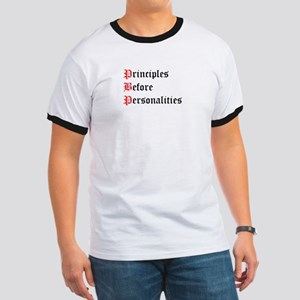 Principles Before Personalities Ringer T