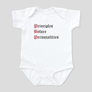 Principles Before Personalities Infant Bodysuit