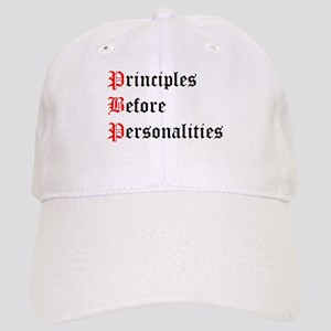 Principles Before Personalities Cap