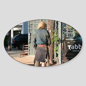 Homeless Sticker (Oval)