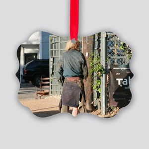 Homeless Picture Ornament