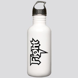 Fight Vertical Logo Stainless Water Bottle 1.0L