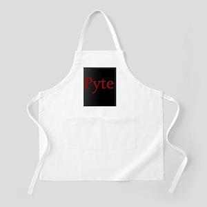 pytelogo Apron