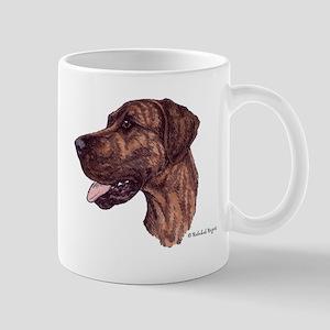 Happiness is a Brindle Great Dane Mug