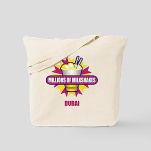 Millions-of-Milkshakes_dubai_transparent Tote Bag