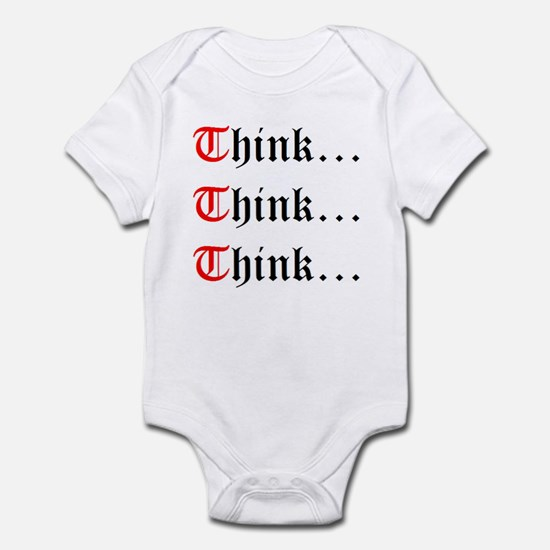 Think Think Think Infant Bodysuit