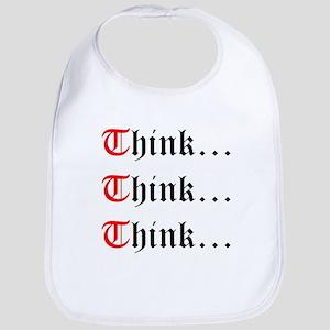 Think Think Think Bib