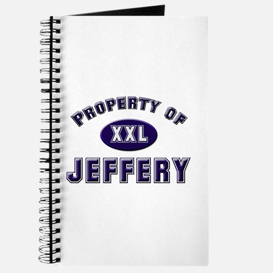 Property of jeffery Journal