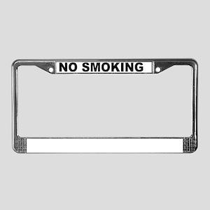 NOSMOKING License Plate Frame