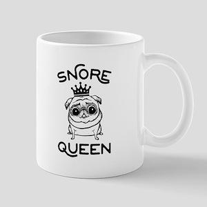Snore Pug 11 oz Ceramic Mug