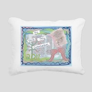 First Holy Communion Rectangular Canvas Pillow