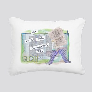 My First Holy Communion Rectangular Canvas Pillow