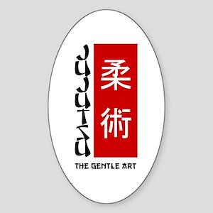 Jujutsu Oval Sticker