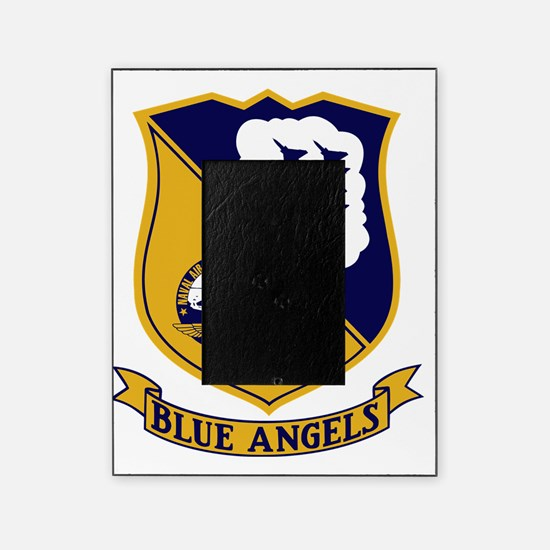 Blue Angels Patch - F-4 Picture Frame