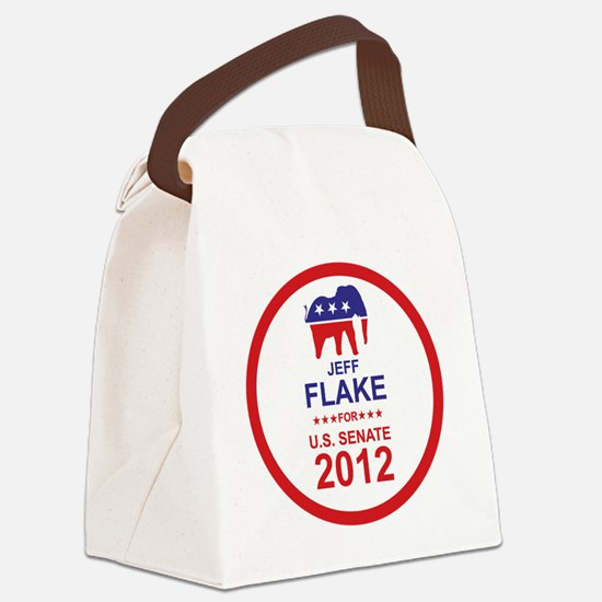 2012_jeff_flake_main Canvas Lunch Bag