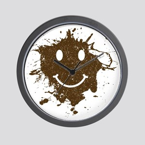 MudSmiley_product Wall Clock