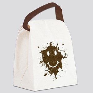 MudSmiley_product Canvas Lunch Bag