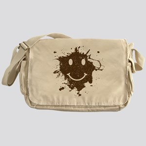 MudSmiley_product Messenger Bag