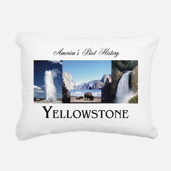 Yellowstone Rectangular Canvas Pillow