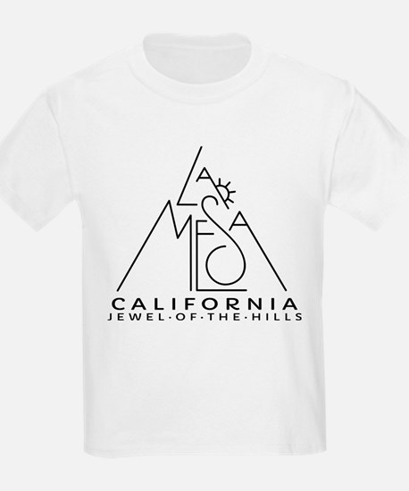 La Mesa CA with Sun T-Shirt