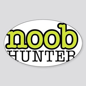 noob_hunter_02 Sticker (Oval)
