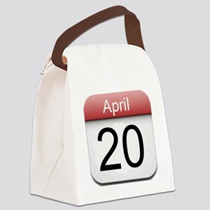 iphone date 420 Canvas Lunch Bag