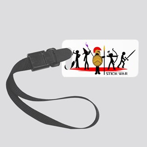 Stick War Small Luggage Tag