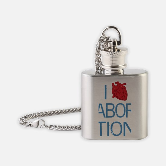 heartabortion Flask Necklace