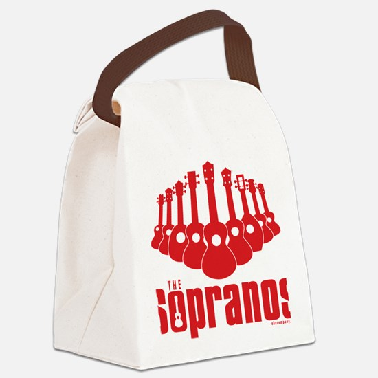 Sopranos Ukuleles Canvas Lunch Bag