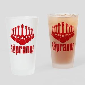 Sopranos Ukuleles Drinking Glass