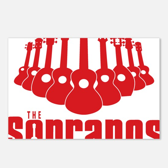 Sopranos Ukuleles Postcards (Package of 8)