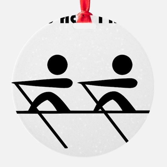 How I Row Black Ornament