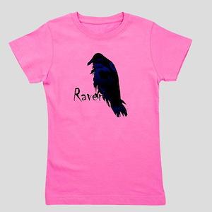 Raven on Raven Girl's Tee