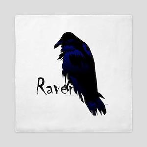Raven On Raven Queen Duvet