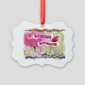 Nursing Instructor Picture Ornament