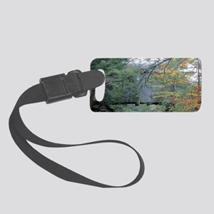 water under bridge resized 8x3 Small Luggage Tag