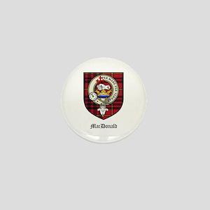 MacDonald Clan Crest Tartan Mini Button (10 pack)