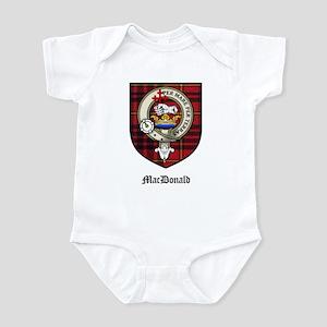 MacDonald Clan Crest Tartan Infant Bodysuit