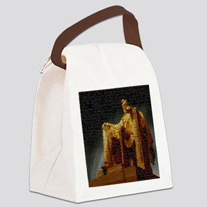 lincoln_memorial_mosaic_terrylync Canvas Lunch Bag