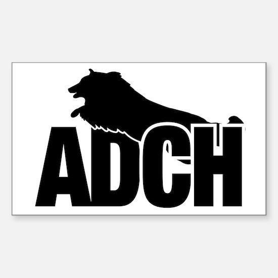 ADCHStickerSheltie Sticker (Rectangle)