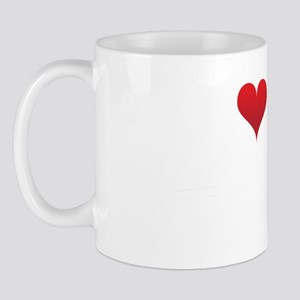 I-heart-my-triathlete-handofsean-white Mug