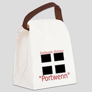 Portwenn_Dark Canvas Lunch Bag