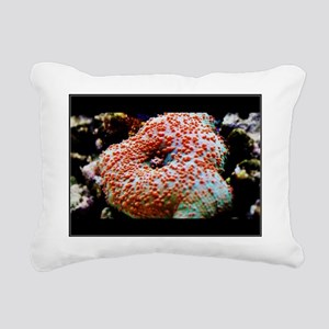 Mushroom I Rectangular Canvas Pillow