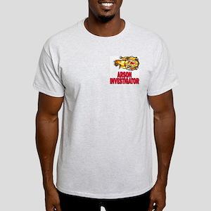 Arson Investigator Ash Grey T-Shirt